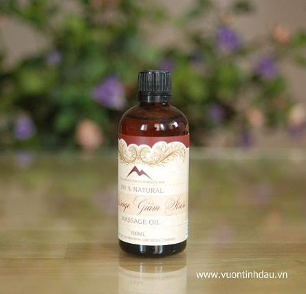Massage giảm stress - Anti Stress Massage Oil